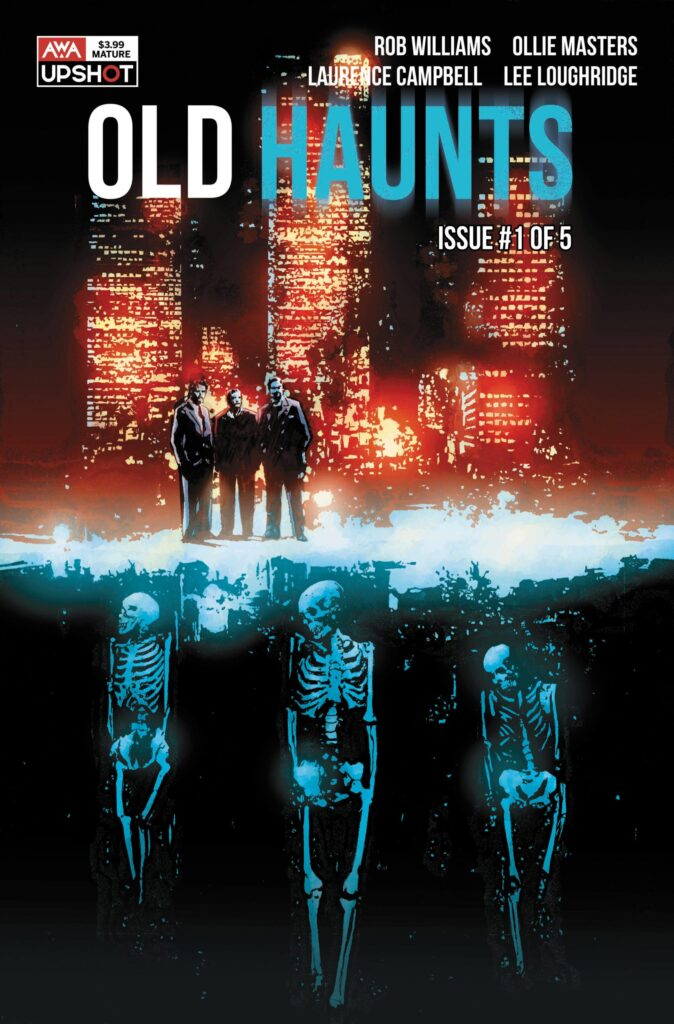Old Haunts graphic novel adaptation will blend horror and gangster genres