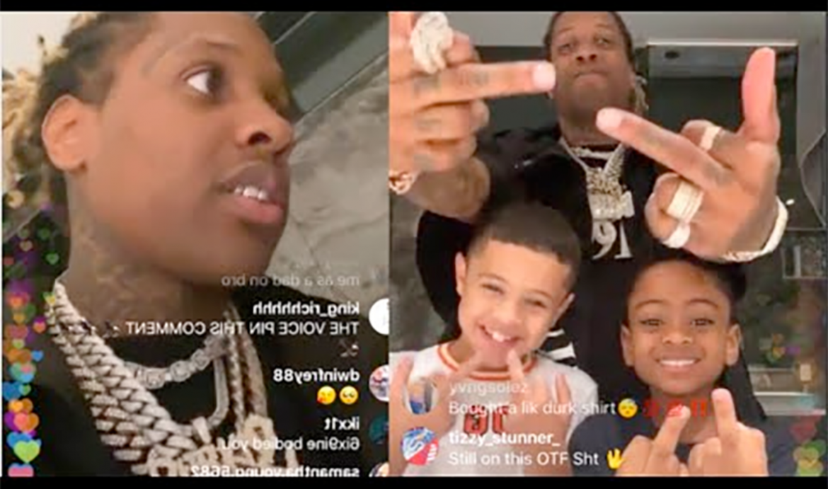 Rapper Lil Durk's 10 Yr Old Son Raps About KILLING MAN ON STAGE!!