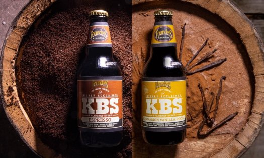 Review: Founders Brewing KBS Bourbon Barrel Aged Espresso Stout and KBS Cinnamon Vanilla Cocoa