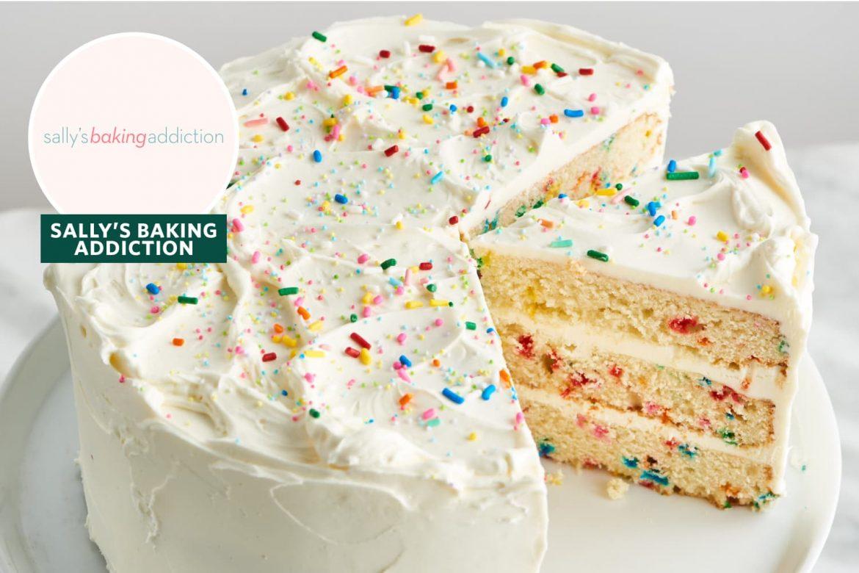 Sally's Baking Addiction's Funfetti Cake Is a Perfect, Go-to Birthday Recipe