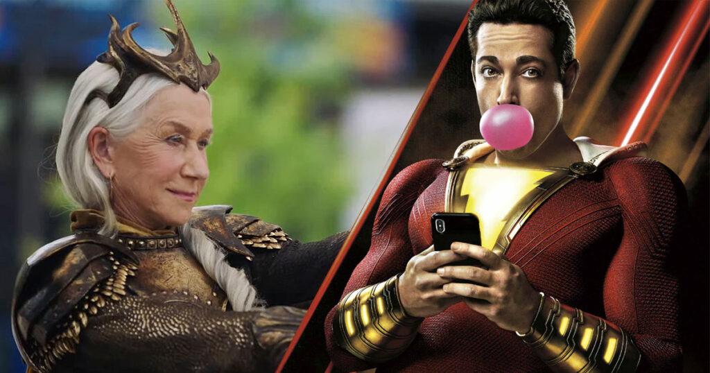 Shazam: Fury of the Gods teaser reveals Helen Mirren and Lucy Liu