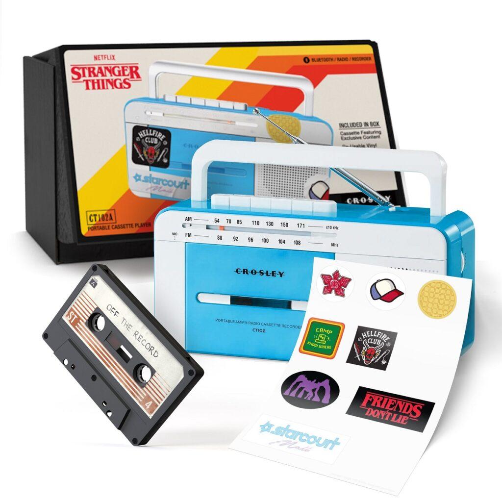 Stranger Things season 4: cassette player includes sneak peek