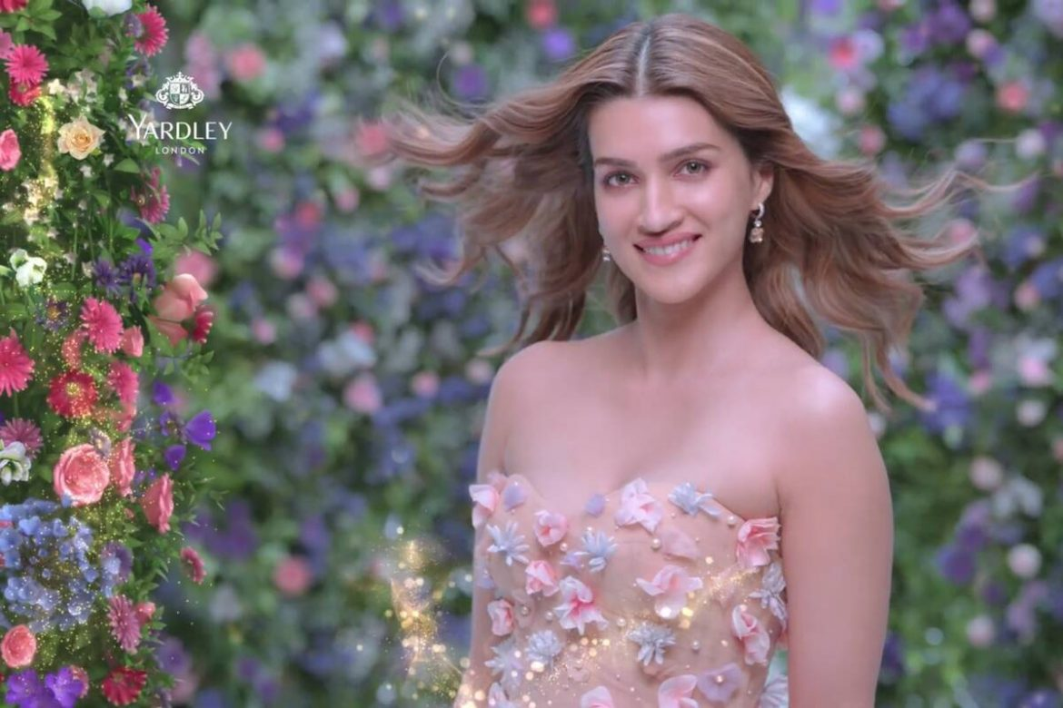 Yardley redefines freshness with a floral touch in its new campaign featuring Kriti Sanon